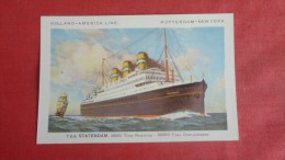 Holland American Line  T.S.S. Statendam--------------  Ref   1928 - Paquebots