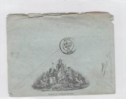 SAGE 15C SUR ENV ILLUSTREE CHOCOLATERIE FRANCAISE FAYNEL LYON  30/08/83 POUR ALAIS GARD - 1877-1920: Semi Modern Period