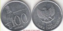 Indonesia 100 Rupiah 1999 Km#61 - used