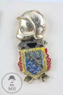 Sapeurs Pompiers Brunoy-Val D´Yerres, France - Fireman/ Firefighter Pin Badge #PLS - Bomberos