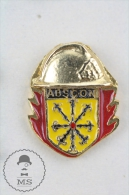 Sapeurs Pompiers Abscon, France Fireman/ Firefighter Pin Badge #PLS - Bomberos