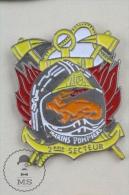 Marins Pompiers 2eme Secteur, France Fireman/ Firefighter Pin Badge #PLS - Bomberos