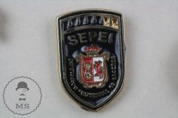 Fireman/ Firefighter Spain, Caceres - Pin Badge #PLS - Bomberos