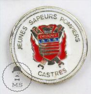 Jeunes Sapeurs Pompiers Castres France Fireman/ Firefighter - Pin Badge #PLS - Bomberos