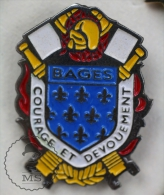 Bages France Sapeurs Pompiers  Fireman/ Firefighter - Pin Badge #PLS - Bomberos