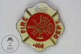 Fireman/ Firefighter - Fire Department - Pin Badge #PLS - Bomberos