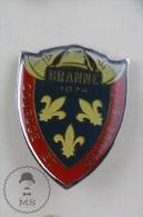 Branne France Sapeurs Pompiers Fireman/ Firefighter - Pin Badge #PLS - Bomberos