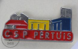 CSP Pertuis France - Pin Badge #PLS - Ciudades