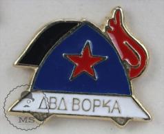 Russian Fireman/ Firefighter - Pin Badge #PLS - Bomberos