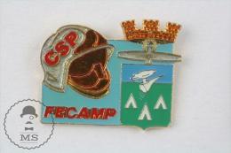 FECAMP Sapeurs Pompiers Fireman Firefighter - Pin Badge #PLS - Bomberos