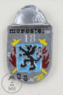 Morestel France Sapeurs Pompiers - Fireman Firefighter - Pin Badge #PLS - Feuerwehr