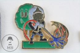 Sapeurs Pompiers - Fireman Firefighter - Pin Badge #PLS - Bomberos