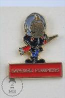 Sapeurs Pompiers France - Fireman Firefighter - Pin Badge #PLS - Bomberos