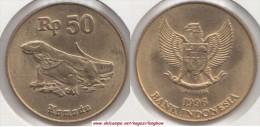 Indonesia 50 Rupiah 1998 Km#52 - used