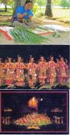 ETATS UNIS HAWAI POLYNESIAN CULTURAL CENTER  LOT DE 10 BELLES CARTES - Big Island Of Hawaii