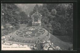 AK Interlaken, Blumenuhr Am Kursaal - Astronomía