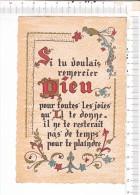 Si Tu Voulais  Remercier   DIEU   Pour Toutes  Les  Joiies Qu  Il  Te Donne.... -  Imprimerie   ROUSSEL  -  Caligraphie - Philosophie & Pensées