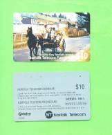 NORFOLK ISLAND - Magnetic Phonecard/Bounty Day - Norfolk Eiland