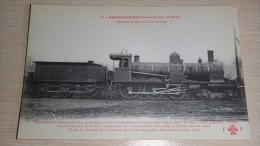 Train. LES LOCOMOTIVES GRAND DUCHE DE BADE - Trains