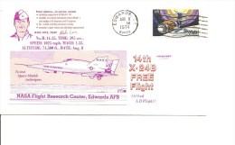 Espace - 14 Vol Du X-24B ( Commémoratif Des USA De 1974 à Voir) - FDC & Commemoratives