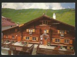 OBERTSCHAPPINA GR Heinzenberg Gasthaus Pension OBERGMEIND - GR Graubünden