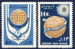 ##K1510. Iran 1963. Michel 1154-55. MNH(**) Please Observe The Description ! - Iran