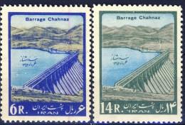 ##K1513. Iran 1963. Michel 1160-61. MNH(**) Please Observe The Description ! - Iran