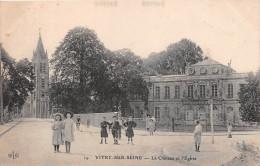 ¤¤  -  19   -  VITRY-sur-SEINE    -  Le Chateau Et L'Eglise   -  ¤¤ - Vitry Sur Seine