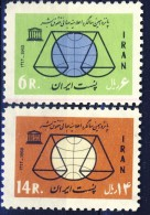 ##K1523. Iran 1963. Michel 1182-83. MNH(**) Please Observe The Description ! - Iran