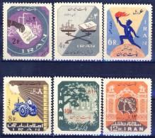 ##B959. Iran 1964. Michel 1187-92. MNH(**) Please Observe The Description ! - Iran