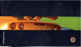 Catalogue Automobile LOTUS  EXIGE Année 2008 - 20 Pages (29.5x 17 Cm) - Voitures