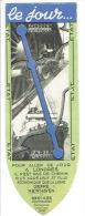 Marque-pages Chemin De Fer - PAQUEBOT Lignes PARIS-LE HAVRE-SOUTHAMPTON-LONDRES-NEWHAVEN-DIEPPE-PARIS - Marque-Pages