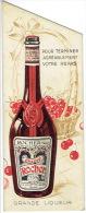 Marque-pages Publicité Pour La Liqueur CHERRY ROCHER LA COTE ST ANDRE ISERE - Marque-Pages