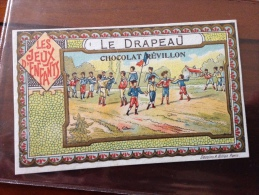 Chromos (voir Photos )les Jeux D Enfants - Revillon