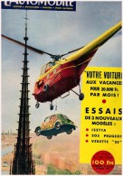 Revue L Automobile  103 1954 La Peugeot  203 Vedette 55  Isetta  Voiture De Sport - Auto/Moto