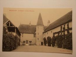 Carte Postale - ESCUROLLES (03) - Le Château - La Cour D'honneur (104/1000) - France