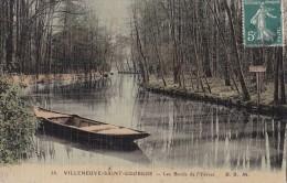 38 VILLENEUVE SAINT GEORGES..............................les Bords De L'yerres...........toilee Colorisee - Villeneuve Saint Georges