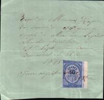 Reçu De Monsieur Dupire Pour Le Compte De Monsieur Legrand Saint-Léger-sous-Brienne - Bossancourt 31 Décembre 1875 - Non Classés