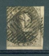BELGIE - OBP Nr 6A - Medaillons - Lijnstempel 102 (ROULERS) - NIPA + 150 BF - 1851-1857 Medallions (6/8)