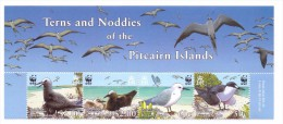 PITCAIRN ,2007  :OISEAUX-WWF YVERT N°663/66  NEUF MNH** - W.W.F.