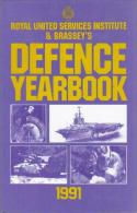 Royal United Services Institute & Brassey's Defence Yearbook 1991 By BRASSYS AND RUSI (ISBN 9780080407296) - Books, Magazines, Comics
