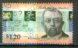 Baron Ferdinand Von Mueller, Botaniste - AUSTRALIE - Emission Conjointe Avec L'Allemagne - N° 1563 - 1996 - 1990-99 Elizabeth II