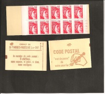 CARNET 1974 C 4a     Neuf Xx  Numéroté - Usage Courant