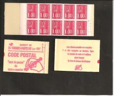 CARNET 1892 C 3a     Neuf Xx   Numéroté - Usage Courant