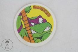 The  Ninja Turtles Donatello Small Round Sticker - Autocollants