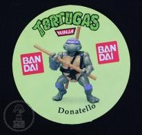 The  Ninja Turtles Donatello - BANDAI Advertising Sticker - Autocollants