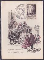 France Journée Du Timbre 1948 - Châlons Sur Marne - ....-1949