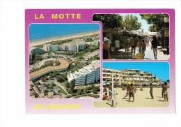 34 - LA MOTTE - Multivues  Enseigne Pharmacie Température - Joueurs  Jeux Volley-ball - - Volleyball