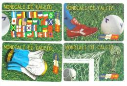 San Marino Mondiali Di Calcio Francia 1998 Serie 2000+3000+5000+10000 Lire Nuove Cod.schede.01 - San Marino