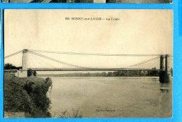 LIPP788, Bonny-sur-Loire, La Loire, Pont, Bridge, Circulée 1928 - Other Municipalities